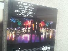 Metallica s & m vertigo 2 CD set first press Collectors Edition 1999