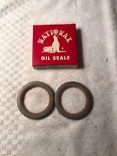 2 NOS National 6815 Front Wheel Seals 62-68 Ford Fairlane 65 66 Falcon