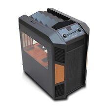Rexgear Mini-ITX and MicroATX PC Cube Case Orange