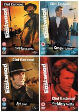THE CLINT EASTWOOD ULTIMATE WESTERN FILMS COLLECTION NEW 4 MOVIES 4 DVD R4