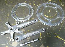 vintage Nervar Star 115 bicycle parts - crank arm set w/ sprockets