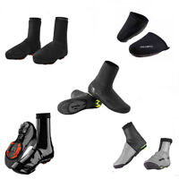 RockBros Cycling Shoe Covers Winter Warm Waterproof Black Protector Overshoes
