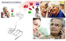 Telesoccorso, teleallarme per anziani e disabili