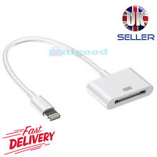 30 Pin to 8 Pin Charger Adapter Cable For iPhone 4 to iPhone 5 6 7 -TOP QUALITY
