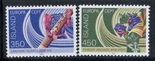 Islanda 1981 Mi. 578-579 Nuovo ** 100% Europa CEPT