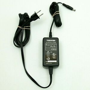 Original Toshiba AT7020A AC Adapter DC 12V 1A 1000mA Power Supply Cord Charger