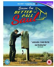 Fast Post Better Call Saul Season 1 Blu Ray UV 2015 UK Original 1stclass