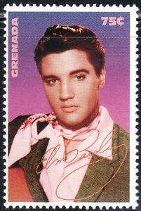 SELLOS TEMA MUSICA GRENADA  1995  2593 LEYENDAS DEL ROLL & ROCK. ELVIS PRESLEY
