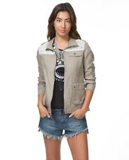 NEW RIP CURL SURF FOREVER YOUNG ZIP UP JACKET Army olive code TT70 RP $89.50