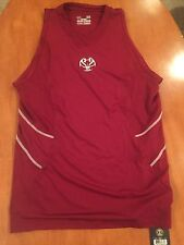 Under Armour- New- Fitted Basketball Shirt- Size Mens Large