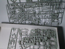 Rare Model Kit 90's spare parts and decalls .