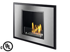 Vienna UL / CUL - Ignis Recessed Ventless Bio Ethanol Fireplace - UL Listed