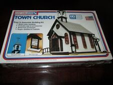 Life-Like TOWN CHURCH HO Scale Steeple Bell Sign KIT Tools SEALED Model Train
