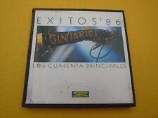 Exitos 86 Gin Larios los cuarenta principales SOLO CAJA cadena SER  ç