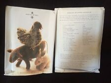 Martha Stewart Barnyard Patterns For Chicken & Rabbit, free saffron ultrasuede