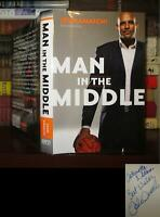 Amaechi, John MAN IN THE MIDDLE Signed 1st 1st Edition 1st Printing