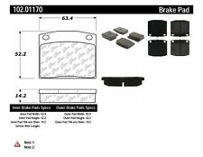 Disc Brake Pad Set-Sedan Front Centric 102.01170