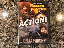 Missing In Action/Delta Force 2 New Sealed Dvd! 1984 Thriller! Invasion USA