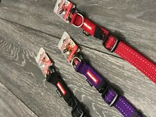 EzyDog Super Strong! Double Up Dog Collar - S, M, L and XL - 4 Different Colours