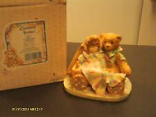 Cherished Teddies ~ Molly - friendship softens a bumpy ride with wagon 1992