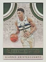 2017-18 Panini Essentials ESSENTIAL STARS GIANNIS ANTETOKOUNMPO QTY AVAILABLE