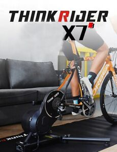 New Thinkrider X7 Smart Bike Trainer Carbon Fiber Frame Built-in Power Meter Bik