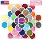 45 Mix Colors Art Powder GLITTER Dust SET UV Acrylic Nail Tips Glitters Manicure