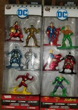Nano Metalfigs DC 5-pack Lot Collector Set 100% Die-cast Metal Justice League