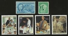 Norman Rockwell - 4 Freedoms + Fdr Speech - Set Of 6 U.S. Stamps -Mint Condition