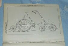 Improvements In Velocipdes And Other Vehicles Patent German London 1896