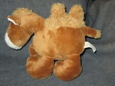 "Dongguan Soyea Toys Plush Camel 10"" Comical Two Back Shag Humps 3+ Brown Floppy"