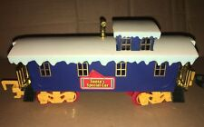 Toy State North Pole Christmas Express Santa's Special Car Caboose Train