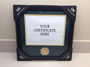 The Highland Mint Green Bay Packers Share Holders Frame With Bronze Coin!