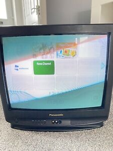 Panasonic tx-21s1t/bh TV CRT Rear Projection Gaming Monitor Vintage