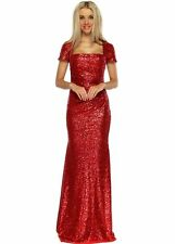 Boat Neck Formal Ballgowns for Women