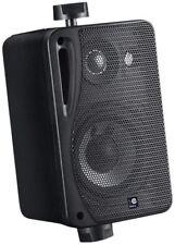 5.25 Inch Background Music Speakers Wth Brackets 160w 4 Ohm Black