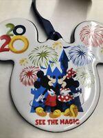 Disney Parks Disneyland Resort Christmas ORNAMENT 2020 MIckey Mouse Ceramic