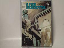 V for Vendetta issue #6 (of 10) Dc Comics 1988 Vf+ Alan Moore & David Lloyd