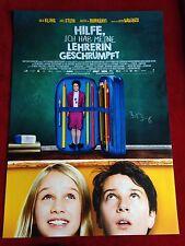 Hilfe ich hab meine Lehrerin geschrumpft Kinoplakat Poster A1 Alex Stein Waalkes