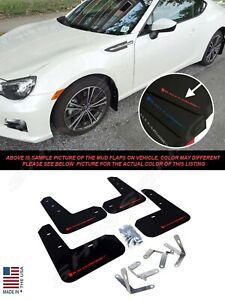 Rally Armor UR Black Mud Flaps w/ Red Logo for 2013-2019 Subaru BRZ Scion FR-S