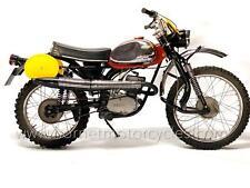 Sachs Enduro 125 K-125GS Boondocker Enduro 1968 Very Rare ISDT Motorcycle