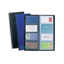 Rapesco Business Card Album Black 80 Card Capacity 40 Pockets