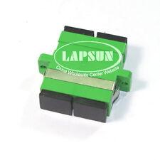 10pc FiberTool SC/APC Duplex Singlemode Coupler Fiber Optic Adapter SC-SC Green