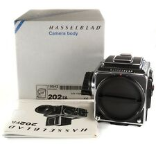 Boxed Hasselblad 202FA Body Only with Waist Level Finder + Acute Matte D+ Crank