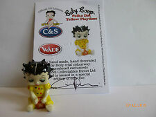Wade Whimsie BABY BETTY BOOP A POIS GIALLO GIOCO le 5
