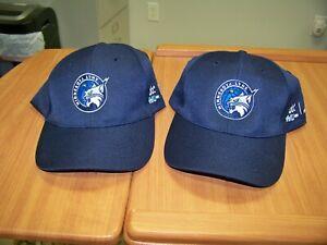 Set of 2 New Minnesota Lynx Basketball Hats / Caps - Navy Blue - Adj Strap