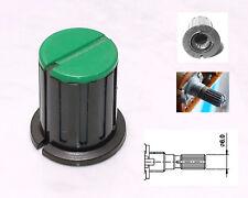 1 Bouton vert et noire pour potentiomètre TEAC M-3 ou M-5B TASCAM et autre