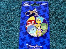 Disney * EMOTIONS * New on Card Pin Trading Lanyard Medal