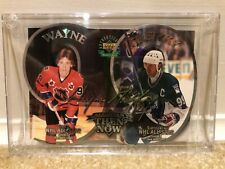 """1998/99 Wayne Gretzky """"Then and Now"""" Autographed UDA Oversize Card # 1626"""