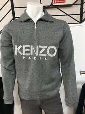 Mens Kenzo halfzip sweatshirt RRP £210 Now £130